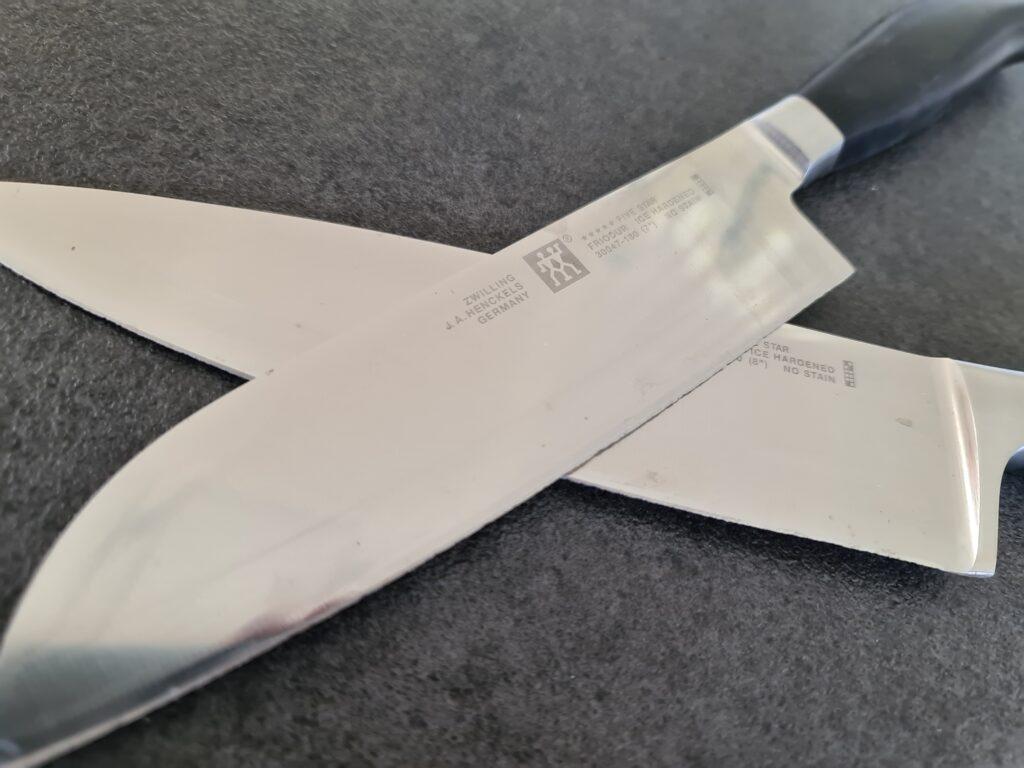 Knive - før slibning